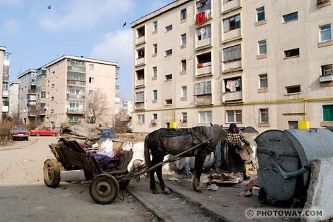 Image Photo de Tziganes et Gitans roumains Photos des Roms en Roumanie