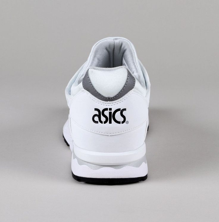 Asics Gel-Lyte V in White/Light Grey. Leather & Nubuck upper with