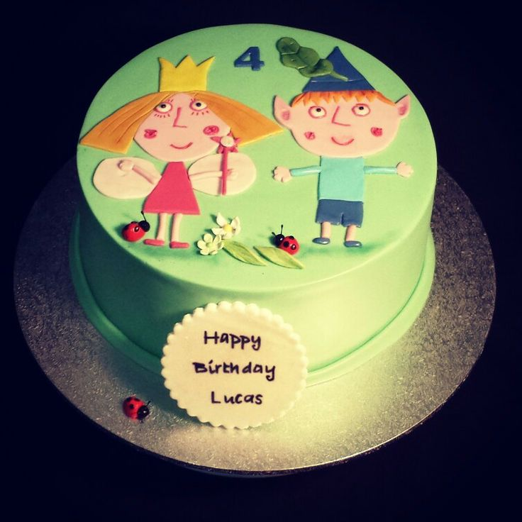 1000+ images about ben and holly cakes on Pinterest