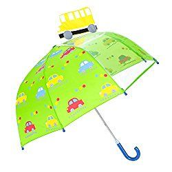 Love the colors in this  childrens umbrella...