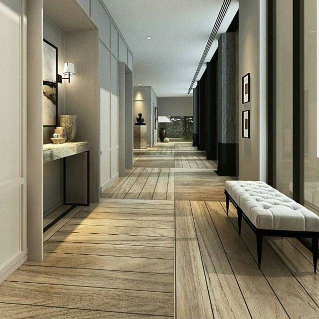 Perfect hallway... via @classy.homes