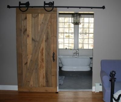 106 best images about wood reclaimed wood project ideas on for Barn board bathroom ideas