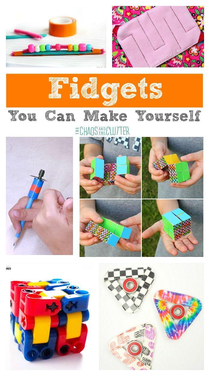 Fidgets You Can Make Yourself Diy fidget toys, Homemade