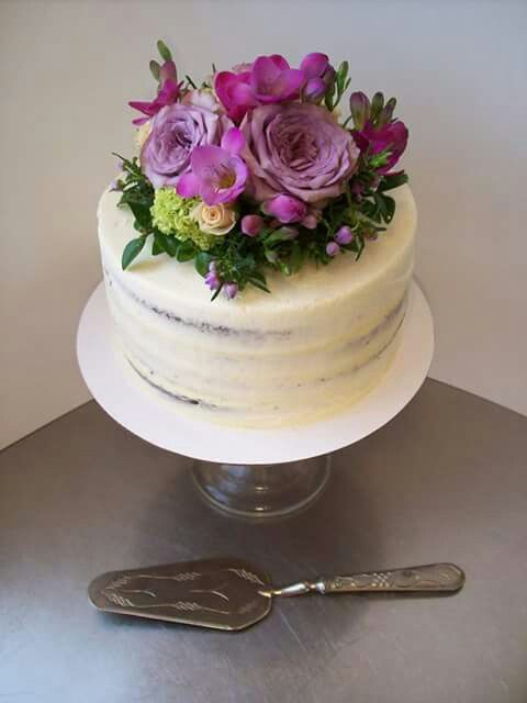 Semi Naked Cake Auckland 165 8 Inch 3 Layer Free Delivery