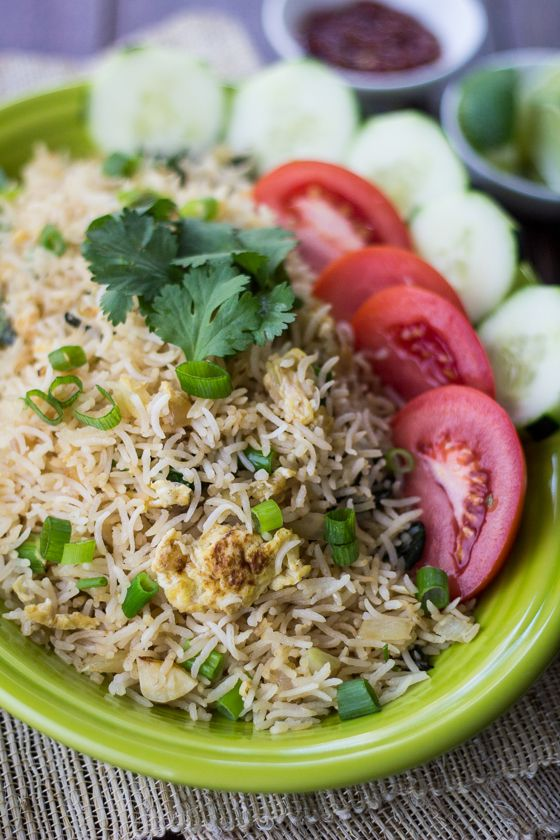 Classic Thai Fried Rice - The Wanderlust Kitchen