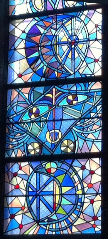 Vitraux de Jean COCTEAU - Eglise St-Maximin - METZ (France)