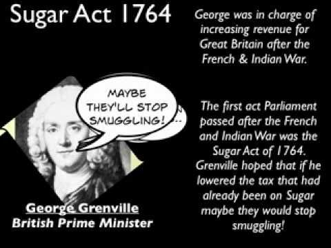 Sugar Act 1764 - YouTube YOU HAVE GOT TO LISTEN TO THIS AHHHAHAHAHAHAHAHHAHAHAAA
