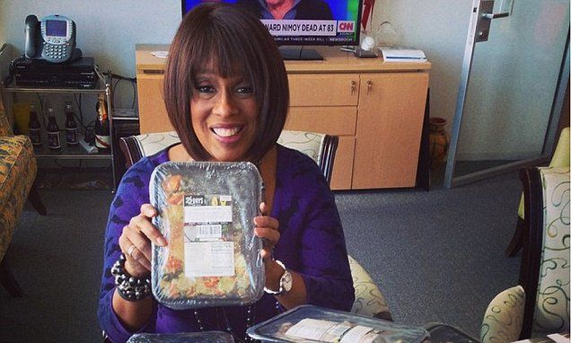 'Fatter than ever!' Gayle King signs up for Beyonce's vegan diet