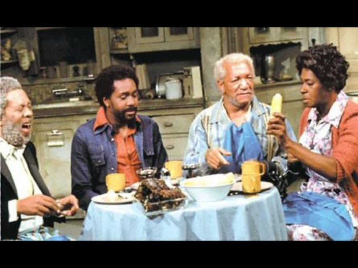 "GRADY, LAMONT, FRED & ESTHER of ""Sanford and Son"""