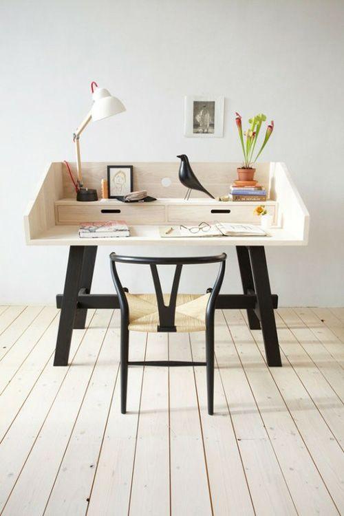 deskIdeas, Interiors, Work Spaces, Work Desks, Workspaces, House, Design, Home Offices, Handmade Furniture