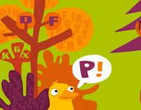 In the wood – children book by Marcella Peluffo, via Behance