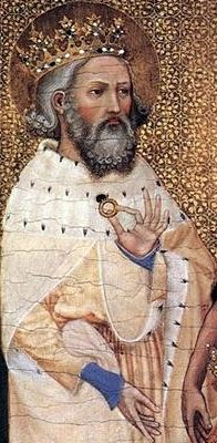 Saint Edward the Confessor pray for us and difficult marriages.  Feast day October 13.