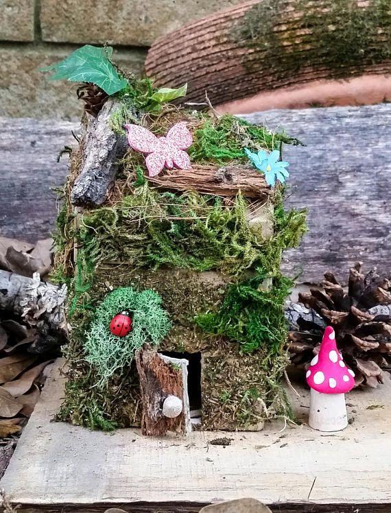 Diy Fairy House Kit Fairy Garden Kit Fairy Garden Fairy Garden