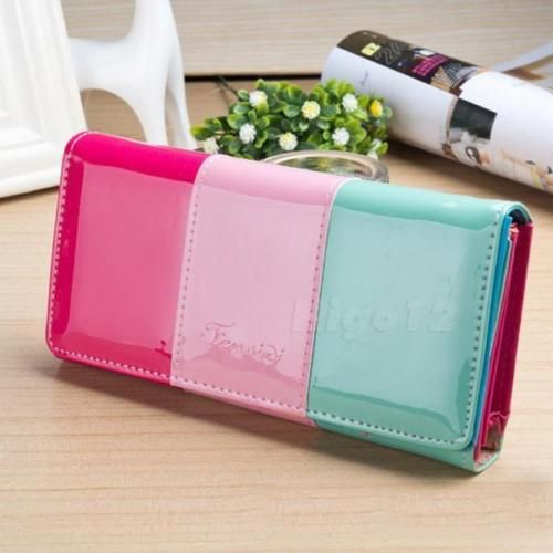 1pcs-Women-Fashion-Leather-Wallet-Button-Clutch-Purse-Lady-Long-Handbag-Bag-HIYG