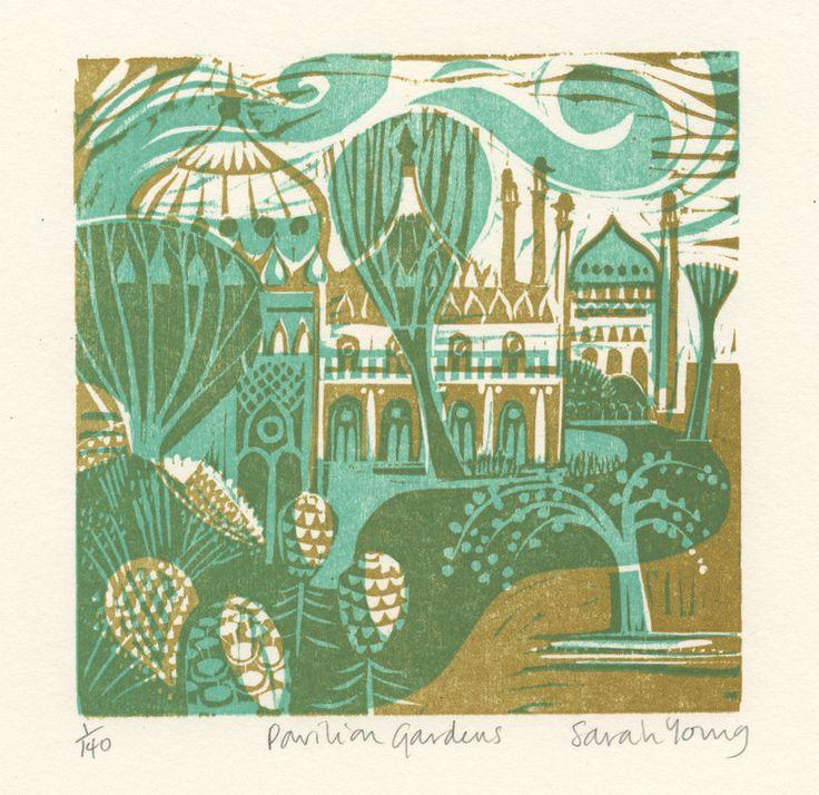 17 best images about printmaking linocut woodcut inspiration on pinterest woodcut art for Garden pavilion crossword clue