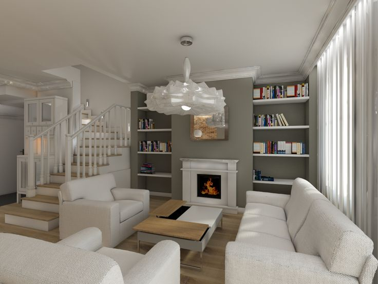 house in modern-classic style