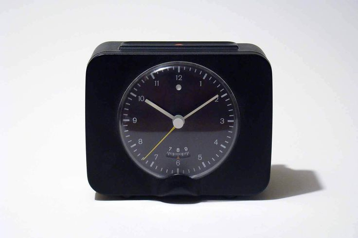 BRAUN PHASE 3 Alarm Clock - Dietrich Lubs - 1972 - with original box - RARE in…