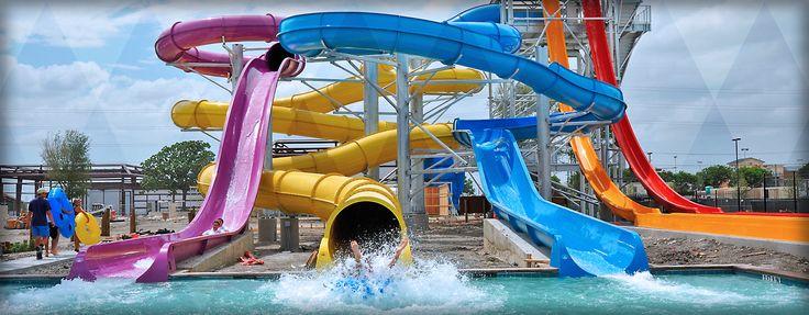 Austin Water Park in Pflugerville, Lazy River, Austin Water Slides