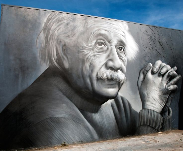 Albert Einstein - By Owen Dippie in Tauranga, New Zealand