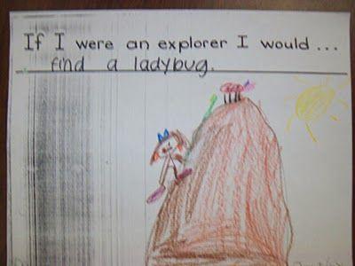 """""""If I Were An Explorer"""" class book"""