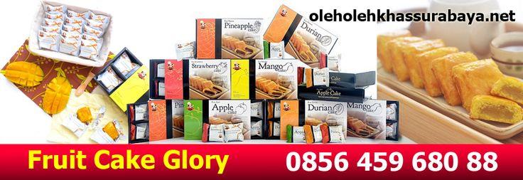 Oleh Oleh Khas Surabaya Fruit Cake Glory. Tersedia Dalam rasa Durian, Nanas, Strawberry, Apel, Mangga. Silakan Pesan di Tlp/SMS/WA : 0856 459 680 88