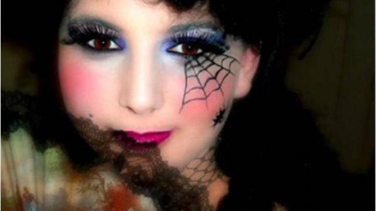 """Résultat de recherche d'images pour """"maquillage halloween sorciere fille"""""""