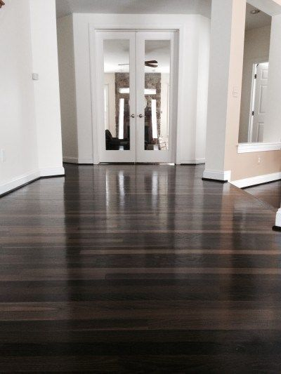 How to Ebonize an Oak or Hardwood Floor the Right Way | Home | Remodeling | - 25+ Best Ideas About Diy Hardwood Floor On Pinterest Wood Floor