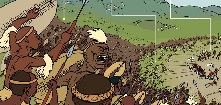 Grave Matters: Shaka Zulu and The Battle of iSandlwana. In The Phoenix. Adam Murphy - Comics