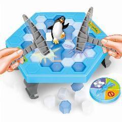 [ 31% OFF ] Janp Activate Penguin Board Game Family/party Children With Parents Funny Puzzle Game Environmentally Abs Plastic With Free Ship