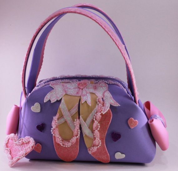 Ballerina Little Girl Purse by SweetBellaLuna on Etsy, $16.00