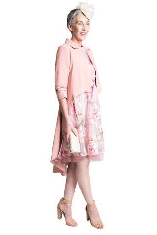 Gorgeous pink floral wedding dresses. The perfect little summer dress for many occasions!