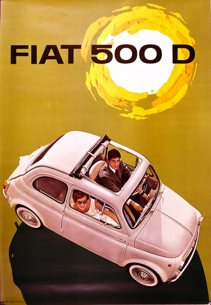 La Fiat Nuova 500 D - 1960