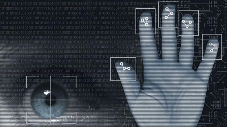 Biometric security, artwork