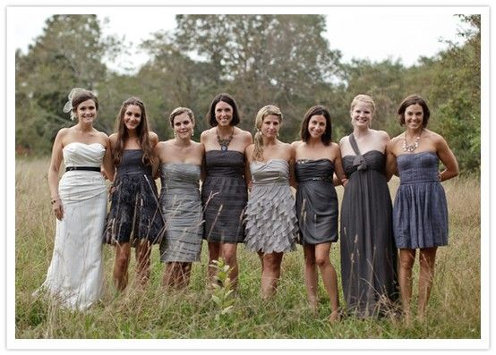 Top 25 Ideas About Different Bridesmaid Dresses On