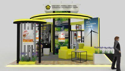 Kontraktor Booth Pameran | Booth Pameran EBTKE | rumahpameran.com