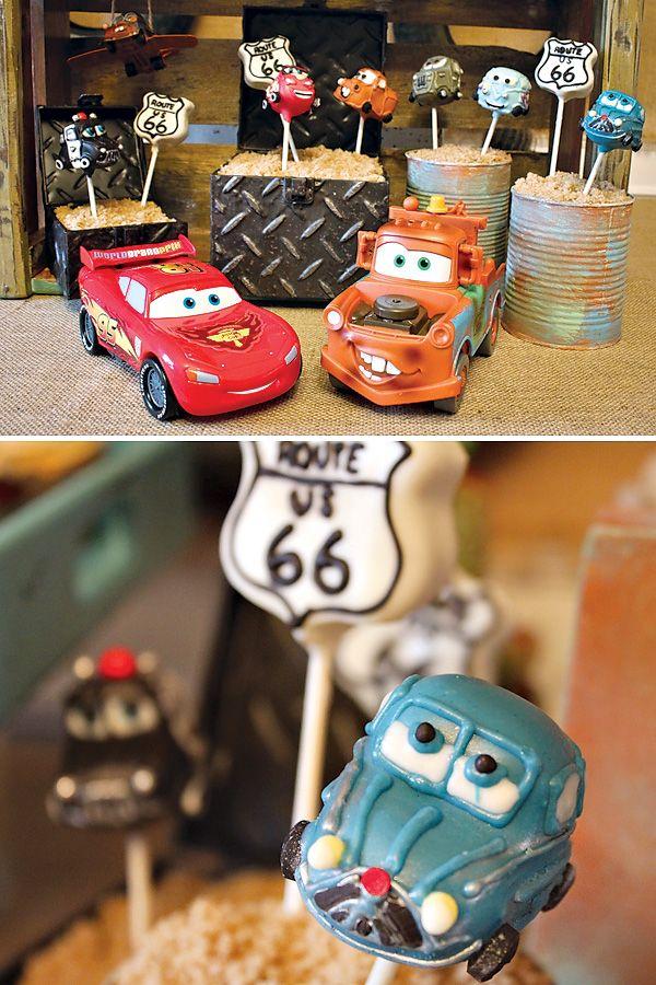 "Vintage ""Radiator Springs"" Cars Themed Birthday Party"