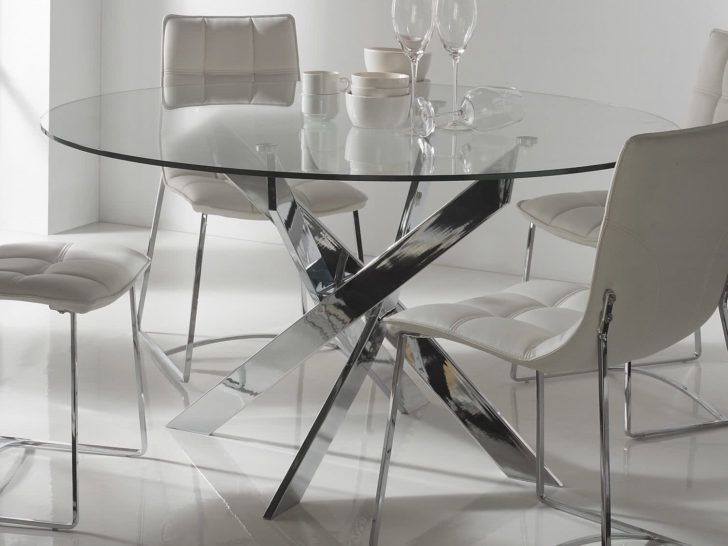 Interior Design Table Ronde En Verre Table Repas Ronde