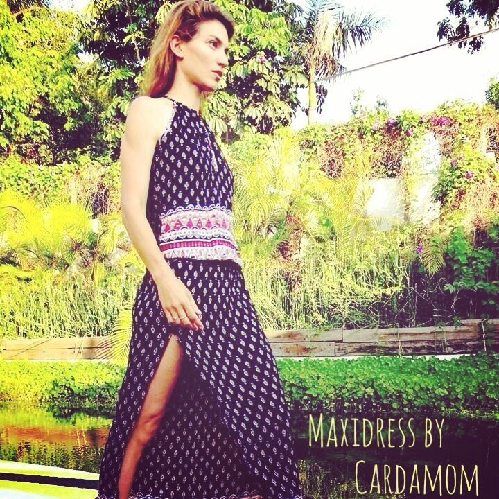 Ethnic Maxi dress by cardamom collection