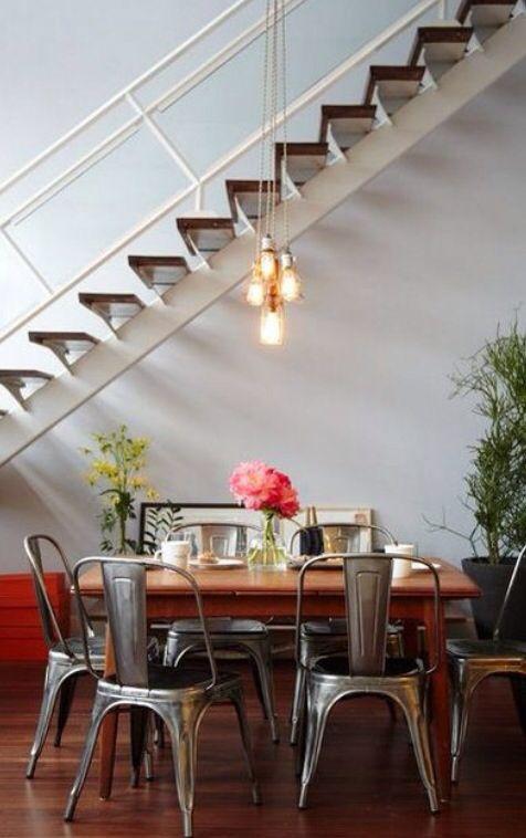 Tolix : http://bit.ly/1H0trYF #design #indus #industriel #home #decoration #prefectplace #dining