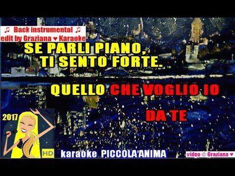 PICCOLA ANIMA Ermal Meta ft Elisa karaoke Playback instrumental wav edit...