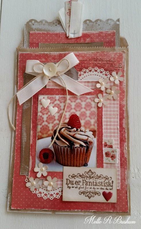 Paper Bag Card - Mette Buskum - Stempelglede :: Design Team Blog