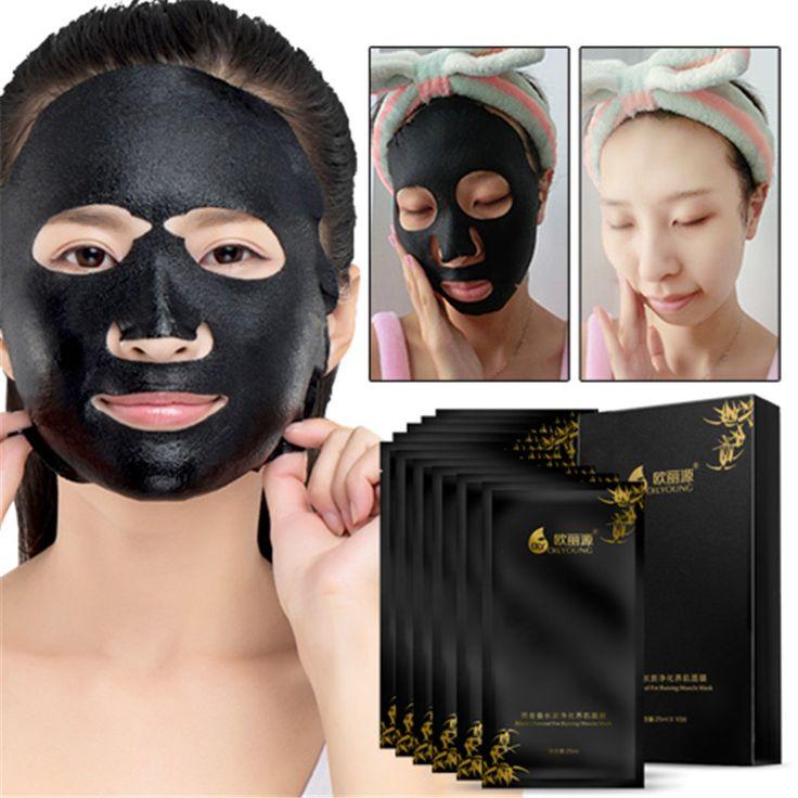 Holzkohle Maske Mitesser Poren Streifen Feuchtigkeitsspendende Schwarze Gesichtsmaske Entfernen Mitesser Akne Dot Saug Schwarz Reinigung Poren
