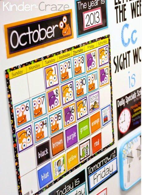 Best 25 Kindergarten Calendar ideas – Calendar Templates for Kindergarten