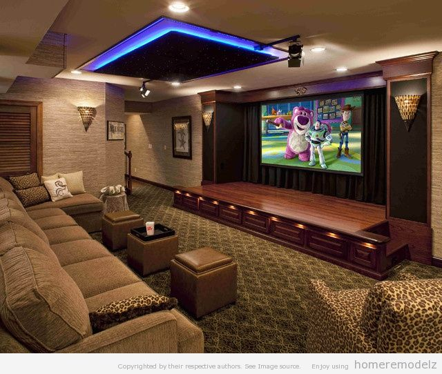 Home Theater Room Design: 66 Best Images About Theater Room On Pinterest