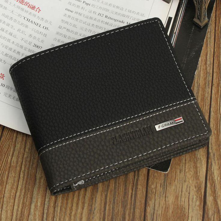 Fashion Men Leather Bifold Wallet Money Card Holder Coin Bag Clutch Pockets HOT #Unbranded #Bifold