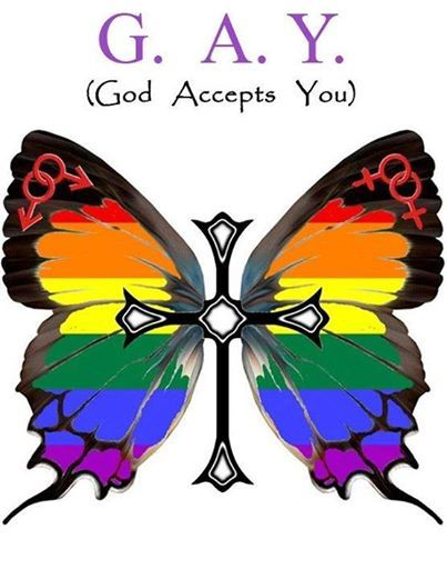 G.A.Y. - GOD ACCEPTS YOU!<3