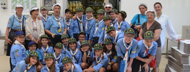 Oggi al #caseificiodipasquo sono venuti a trovarci dei giovani #scout. Sul nostro #blog, raccontiamo quanto accaduto!