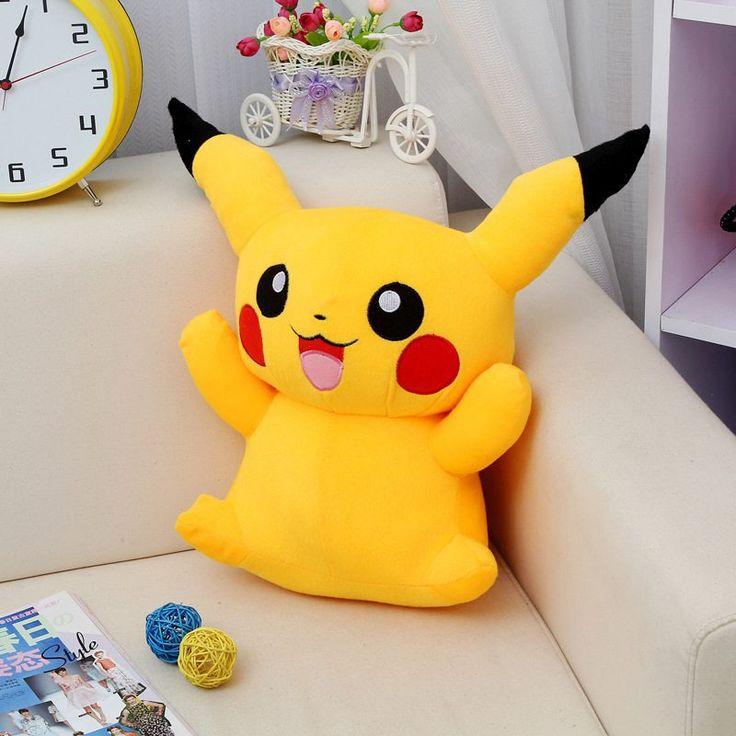 Pikachu Plush Toy //Price: $10.99 & FREE Shipping //     #shoppingtime #orphanland