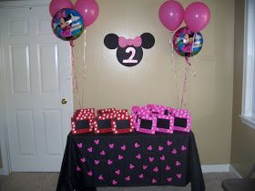 Birthday Parties for Girls: Minnie Mouse Birthday Party