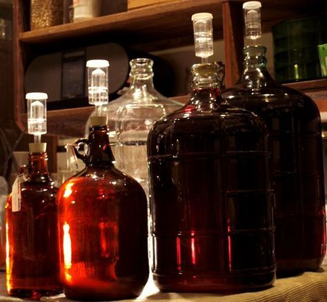 How to Make Heavenly Homemade Fruit Wines -- I've been wanting to get into making my own liquors. NOTE: I seriously just learned that this isn't actually legal. I just sort of assumed that it was legal to distill your own liquor for private use, as long as you weren't selling.
